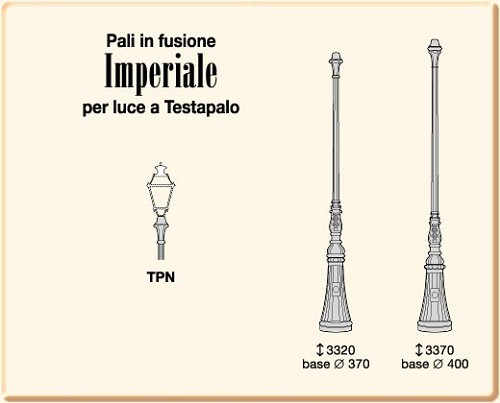 IMPERIALE                 a Testapalo