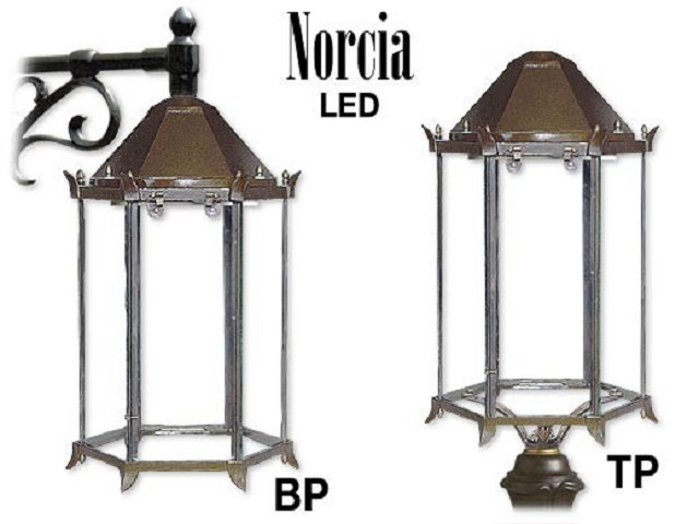 NORCIA LED in alluminio