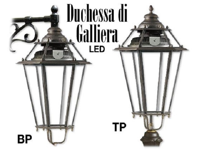 DUCHESSA DI GALLIERA LED in ottone