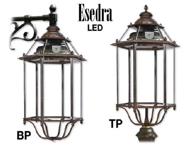 ESEDRA LED in ottone
