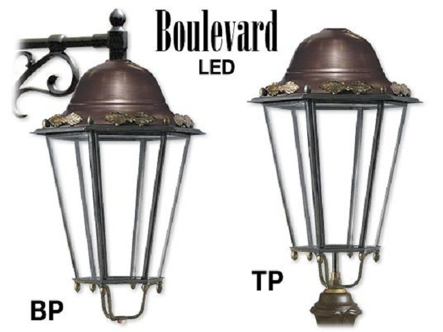 BOULEVARD LED in ottone