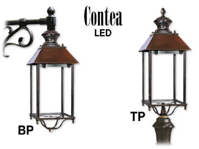 CONTEA LED in alluminio