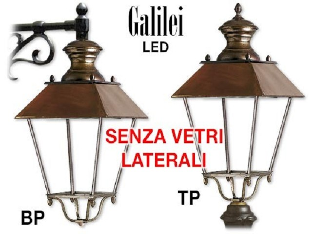 GALILEI LED at aluminum casting without glasses